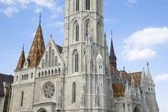 Matthias-Kirche, Budapest lizenzfreie stockfotos