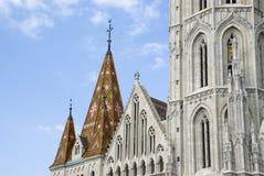 Matthias-Kirche, Budapest lizenzfreies stockbild