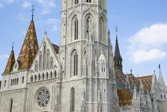 Matthias-Kirche, Budapest stockbilder