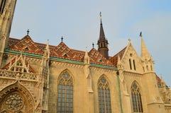 Matthias-Kirchenbudapest-ungheria Stockfotografie