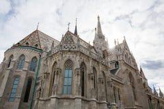 Matthias kościół przy Fishermans bastionem w Budapest obraz royalty free