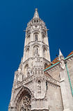 Matthias kyrka royaltyfri fotografi