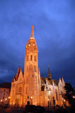 Matthias kyrka Royaltyfri Foto