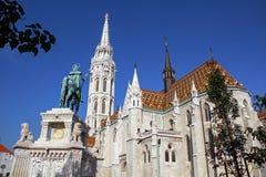 Matthias kyrka Royaltyfria Bilder