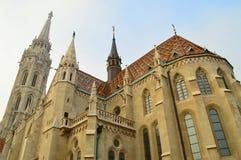 Matthias kyrkabudapest ungheria Arkivfoton