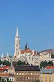 Matthias rybak i kościół górujemy Budapest Obrazy Royalty Free