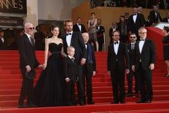 Matthias Schoenaerts, Jacques Audiard, Marion Coti Imagem de Stock Royalty Free
