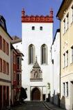 Matthiasturm av Bautzen i Tyskland fotografering för bildbyråer