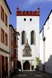 Matthiasturm of Bautzen in Germany stock images
