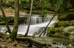Matthiessen cascade. Royalty Free Stock Photography