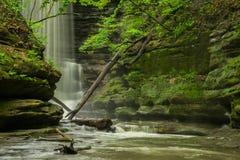 Matthiessen Falls. Royalty Free Stock Photo