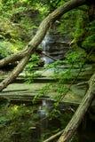 Matthiessen Lake falls. Stock Photos