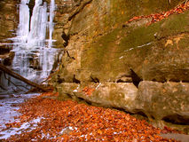 Matthiessen Nationalpark - Illinois Lizenzfreies Stockfoto
