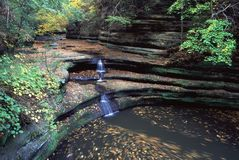 Matthiessen State Park - Illinois Royalty Free Stock Photo