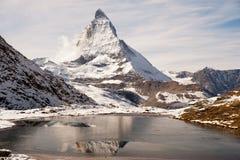 Matthorn de Zermatt Imagem de Stock Royalty Free