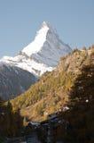 Matthorn Zermatt Стоковая Фотография RF