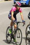 Mattia Cattaneo del equipo de Lampre-Mérida Fotografía de archivo