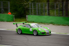 Mattia Drudi Porsche 911 filiżanka przy Monza Zdjęcia Stock