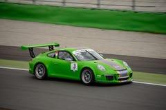 Mattia Drudi Porsche 911 Kop in Monza Royalty-vrije Stock Foto