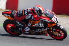 Mattia Pasini, Moto2 Montmelo Obrazy Royalty Free