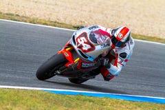 Mattia Pasini pilot of MotoGP Stock Image