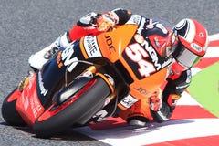 Mattia Pasini Potwór Energetyczny Uroczysty Catalunya MotoGP Prix Obrazy Royalty Free