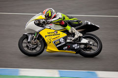 Mattia Tarozzi pilot of 125cc in the CEV Stock Photography