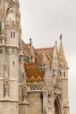 Mattias Church in Castle Hill Budapest Stock Photo