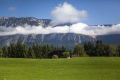 Mattina alpina Immagini Stock