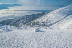 Mattina in alto Tatras Fotografie Stock