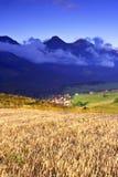 Mattina in alto Tatras (Vysoké Tatry) Fotografia Stock Libera da Diritti