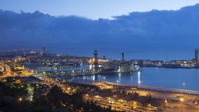 Mattina a Barcellona - tempo accelerato 4k