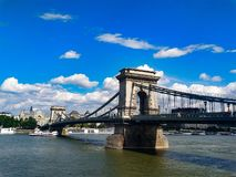 Mattina a Budapest fotografia stock