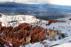 Mattina del canyon di Bryce Immagine Stock Libera da Diritti