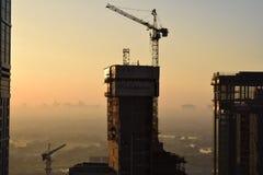 Mattina del Dubai Immagini Stock Libere da Diritti