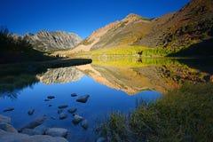 Mattina del nord del lago fotografie stock libere da diritti