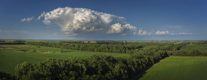 Mattina del Sud Dakota Immagini Stock Libere da Diritti