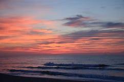 Mattina dell'oceano Immagini Stock Libere da Diritti