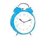 Mattina dell'orologio Immagine Stock