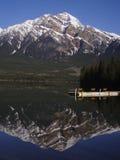 Mattina della montagna Fotografie Stock Libere da Diritti