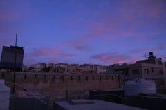 Mattina di alba del cielo fotografia stock