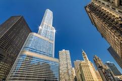 Mattina di Chicago Fotografia Stock