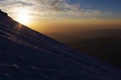Mattina di Elbrus Fotografie Stock Libere da Diritti