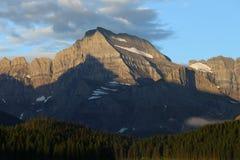 Mattina di Gould del supporto del Glacier National Park Immagine Stock