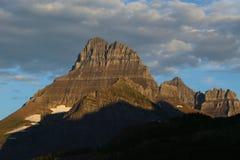 Mattina di Gould del supporto del Glacier National Park Fotografia Stock