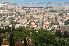 Mattina di Haifa Fotografie Stock Libere da Diritti