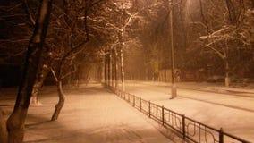 Mattina di inverno alla regione di Mosca Immagine Stock Libera da Diritti