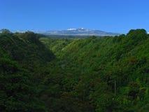 Mattina di Mauna Kea Fotografie Stock