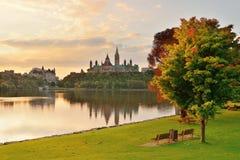 Mattina di Ottawa Immagine Stock