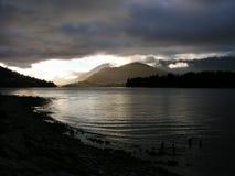 Mattina di Wakatipu del lago Immagini Stock Libere da Diritti